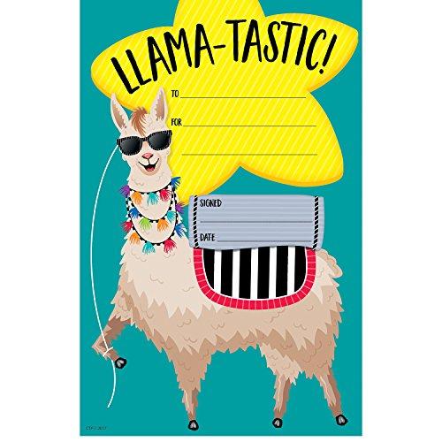 Creative Teaching Press Bold & Bright Llama-Tastic Award, Small, CTP (2453)