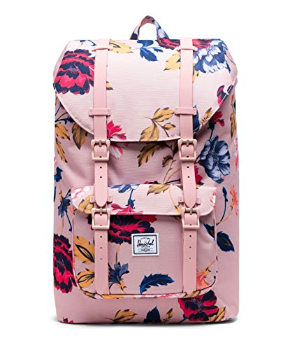Herschel Little America Winter Flora 10020-02996-OS Backpack with Laptop Sleeve (Multi-Colour)