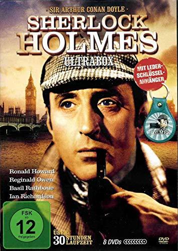 Sherlock Holmes - TV-Serie und Filme - 30 Stunden Laufzeit [8 DVDs]