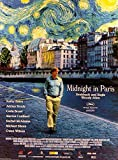 Midnight in Paris - Owen Wilson - Filmposter A3 29x42cm
