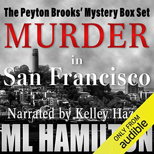 The Peyton Brooks' Mysteries Box Set audiobook cover art