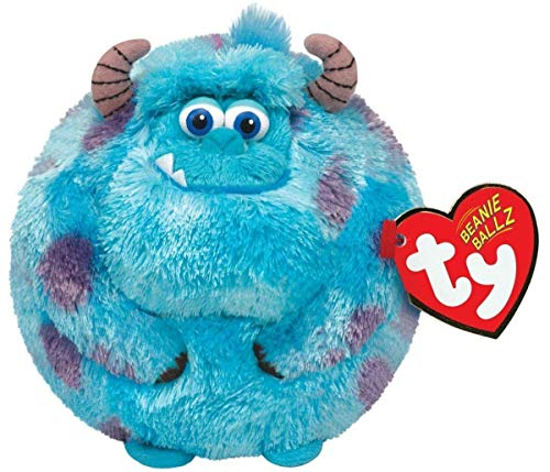 Disney Monsters Inc TY Sulley - Petite Taille boule de peluche - Disney Monsters Inc TY Sulley - Small Size Ball Plush