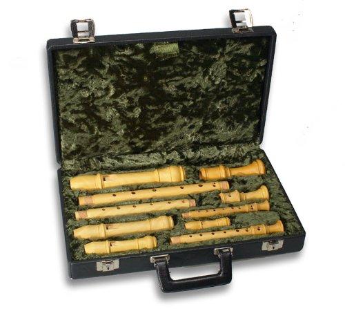 MOLLENHAUER ETUI SOPRANINO/SOPRAN/ALT/TENOR 7300 Blockflöten Blockflöten Koffer & Taschen