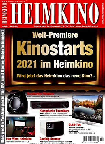 Heimkino smart-TV 3/2021