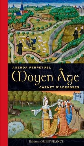 Agenda Perpetuel du Moyen-Age Carnet d'Adresses