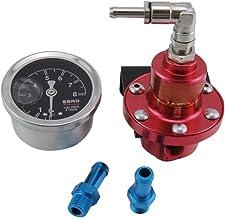 Pressione rail carburante auto Adattatore regolatore/ con raccordi per Evo 1 2 3ECLIPSE DSM