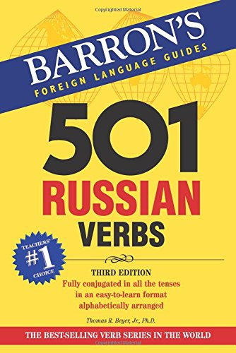 501 Russian Verbs (Barron's Foreign Language Guides)