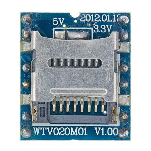 WTV020 WTV020-SD Mini-SD-Karte WTV020SD-20SS MP3-Soundmodul für PIC WTV020-SD-16P