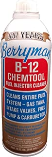 Berryman 0116 B-12 Chemtool Carburetor, Fuel System and Injector Cleaner, 15 oz. Easy Pour-in Can