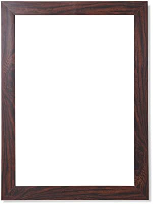 Frame N Art Decorative Wooden Finish Water Proof Vanity Wall Mirror Glass for Living Room, Bathroom, Bedroom (CGC-08) (18 x 24)
