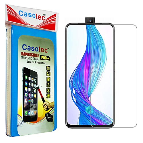 Casotec Hammer Proof Impossible Film Screen Protector [Not a Tempered Glass] Screen Guard for Realme X