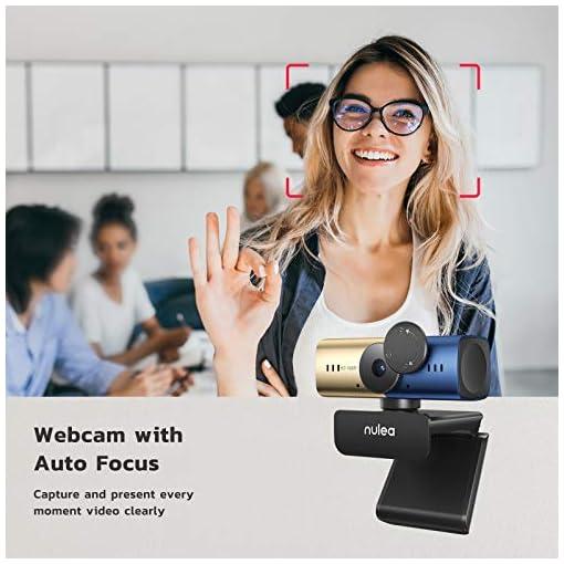 C905 Autoenfoque Webcam con Micrófono, Full HD 1080P/ 30 fps con Cubierta de Privacidad, Cámara Web USB para PC… 2