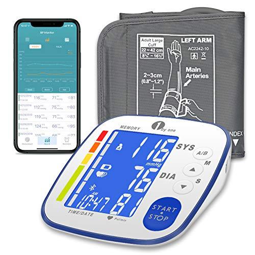 Monitor presión arterial Bluetooth brazo