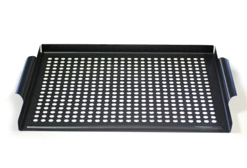 Point-Virgule PVB-BBQ-0130 Grille Barbecue pour Petits Aliments 40,5 x 30,5 cm