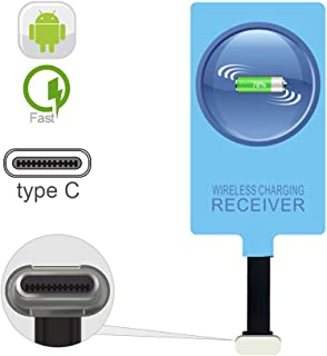 IVY QI Wireless Charging Receiver Adapter with Fast&Smart Microchip Technology for Samsung Galaxy A20/A30s/A40/A50s/A60/A7...