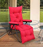 Spacecrafts Recliner Folding Easy Chair for Home Relax (LEC, Red)