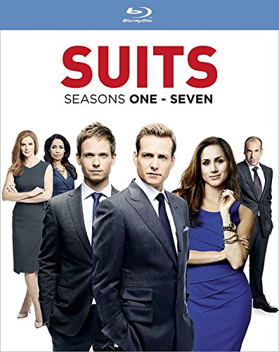 Suits: Season 1-7 Set (28 Blu-Ray) [Edizione: Regno Unito] [Reino Unido] [Blu-ray]