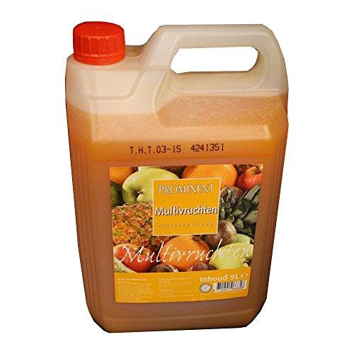 Prominent Siroop Multivruchten 5l Kanister (Getränke-Sirup, Fruchtmischung)