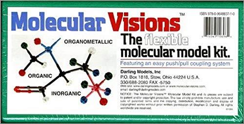 Molecular Visions (Organic, Inorganic, Organometallic) Molecular Model Kit #1 by Darling Models to accompany Organic Chemistry (WCB CHEMISTRY)