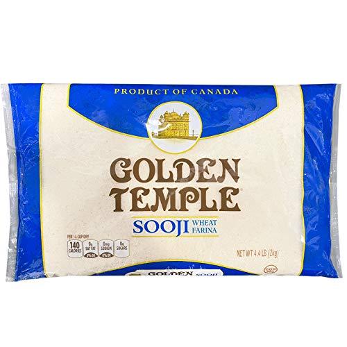 Golden Temple - Sooji, Creamy Wheat Farina, 4.4 LB (2kg)