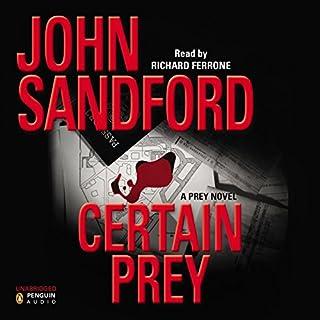 Certain Prey audiobook cover art
