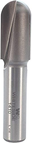 high quality Whiteside Router Bits 1410 Round Nose Bit with popular 5/16-Inch Radius, 5/8-Inch Cutting Diameter and 1-1/4-Inch Cutting lowest Length sale