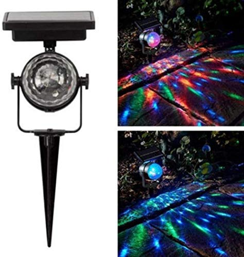 Led projectie lamp zonne-projectie lamp zonne-energie roterende led projectie licht outdoor licht zonne-energie projectie lamp zonne-energie roterende