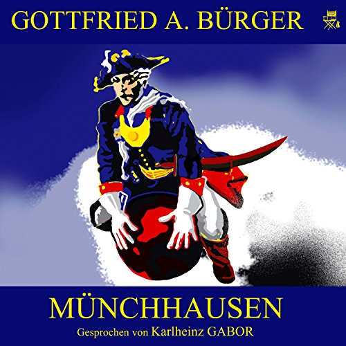 Münchhausen audiobook cover art