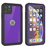 Punkcase iPhone 11 Pro Waterproof Case [StudStar Series] [Slim Fit] [IP68 Certified] [Shockproof][Dirtproof][Snowproof] 360 Full Body Armor Cover Compatible with Apple iPhone 11 Pro (5.8') [Purple]