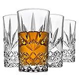 Godinger Highball Glasses, Drinking Glasses for Water, Juice, Cocktails, Beer or Wine - Set of 4