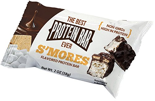 The Best Protein Bar Ever - 10 Bars - Smores - Sports...