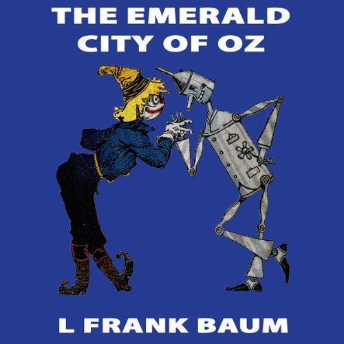 The Emerald City of Oz cover art