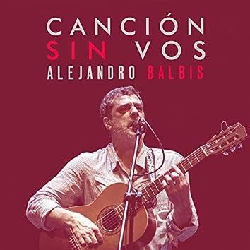 Canción Sin Vos (En Vivo)