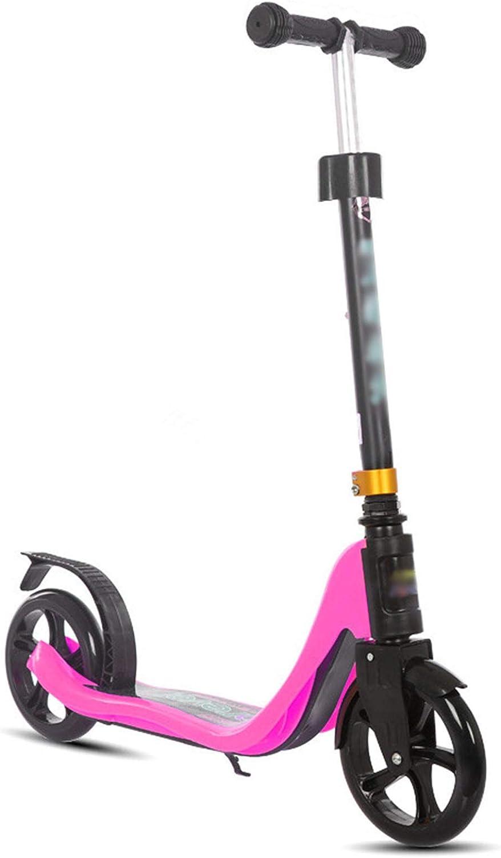 Uooeg-F Scooters de 2 Ruedas para niños de 7-14 años Scooter ...