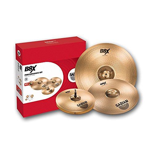 "Sabian B8X Performance Cymbal Set 14"" Hats 16""/18"" Thin Crash 20"" Ride"