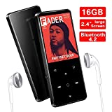 16GB Reproductor MP3 Bluetooth 4.2 SUPEREYE con Pantalla TFT de 2.4 Pulgadas, Reproductor de Música...