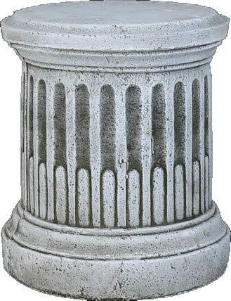 DEGARDEN Pedestal Columna de hormigón-Piedra para jardín o Exterior 35X42cm.