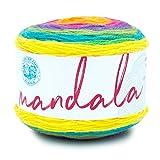 Lion Brand Yarn 525-209 Mandala Yarn, Gnome, 1-Pack