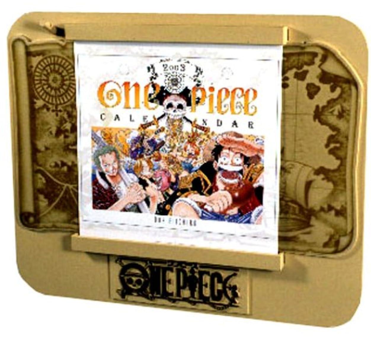 盆セーブ赤字ONE PIECE 2003カレンダー ([カレンダー])