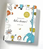 Illustration School. Let's Draw: A Kit with Guided Book and Sketch Pad for Drawing Happy People,...
