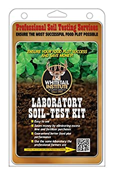Whitetail Institute Laboratory Soil Test Kit Ensures The Most Successful Deer Food Plot Possible Professional Consultation Included Receive Results Within One Week