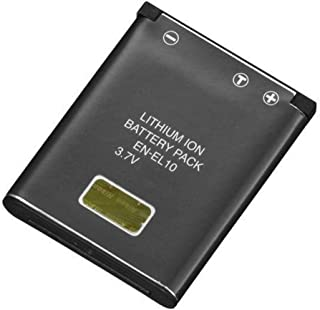 Amsahr Digital Replacement Battery for Nikon ENEL10, Coolpix S80, Coolpix S200