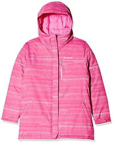Columbia Jungen Ski-Jacke, Alpine Free Fall II, Rosa (Pink Ice) Compact Strokes, M
