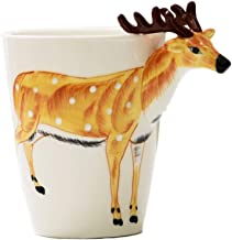 LIMINGMENG 3D Animal Ceramic Cup, Simple Creative Water Cup, Large Capacity, Coffee Cup..