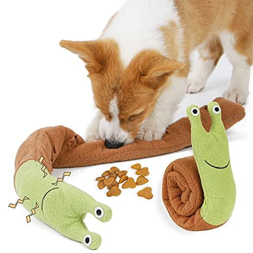 beetoy Hundespielzeug Schnupftabak Spielzeug für Puzzle und Futtersuche Instinkt Training, Interaktives Plüschzahnen Spielzeug für Stressabbau Spiel für Langeweile