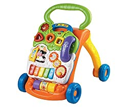 Best Selling Baby Gear VTech Sit-to-Stand Learning Walker Frustration Free Packaging
