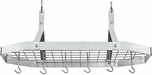 new arrival Cuisinart lowest Octagonal Hanging Cookware Rack,Stainless new arrival steel outlet online sale