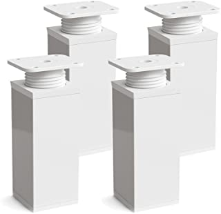 Patas para muebles, 4 piezas, altura regulable | Perfil