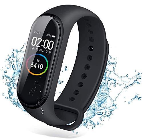 M5 Smart Bracelet Pulsera de Actividad,Reloj Inteligente con Oxígeno Sanguíneo Presión Arterial...