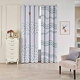 unieco cortinas 2pieza 209cortinas 209cortinas con ojales para dormitorio,...